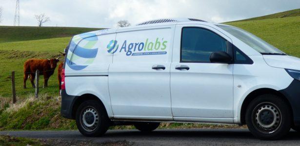 Véhicule Agrolab's vache